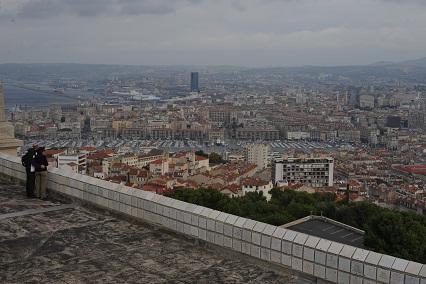 Marseille seen from Notre Dame de La Garde