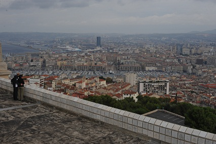 Marseille seen from Notre Dame de La Garde