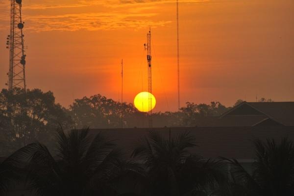 Sunrise 6.34am