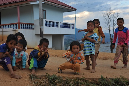 Akha Children