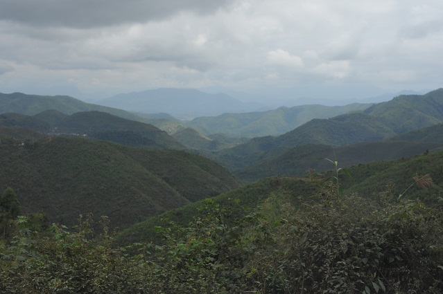 mountains to Luang Nam Tha