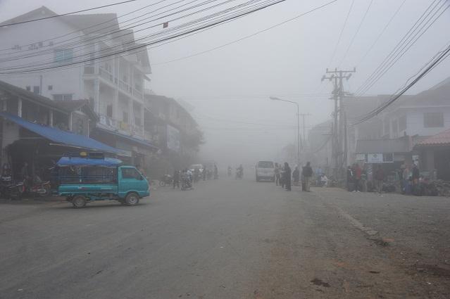 Phongsaly foggy