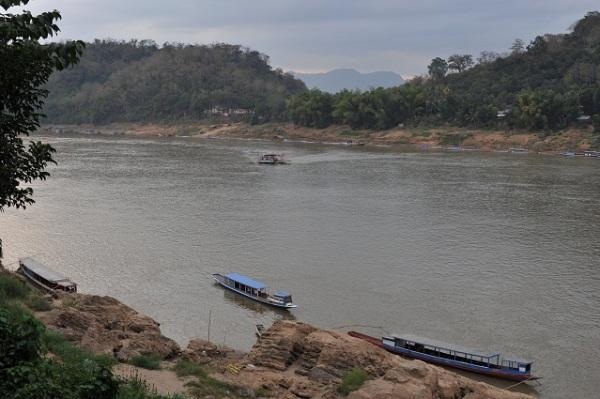 Luang Prabang - Mekong side