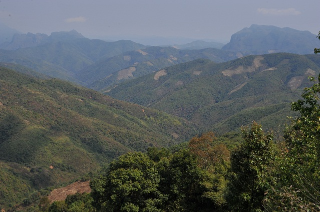 Landscape to Phonsavan