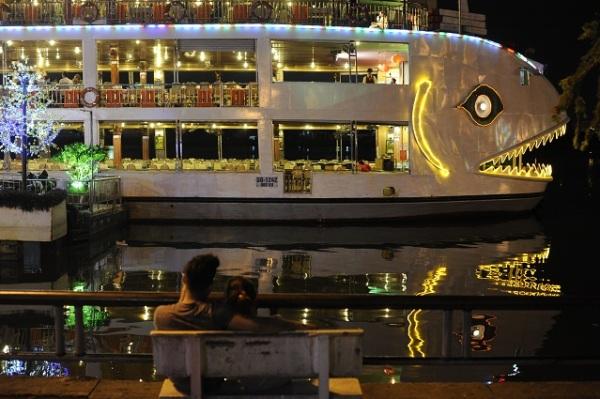 huge boat