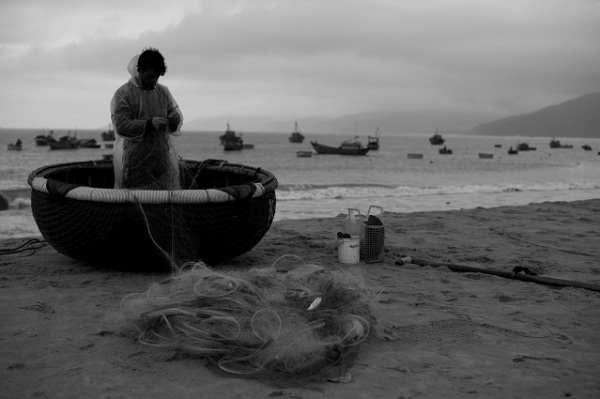 Quy Nhon fisherman
