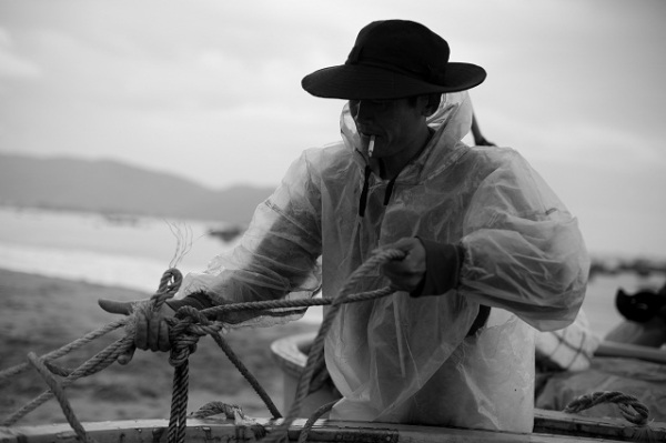 Stylish fisherman