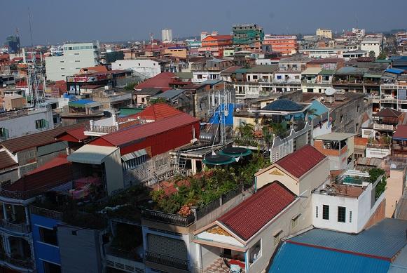 View of Phnom Penh