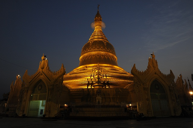 paya near to Shwedagon