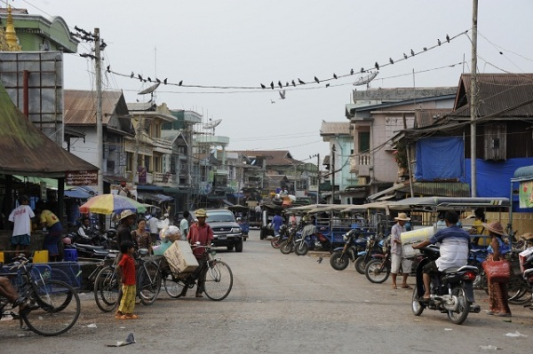 Hpa An streets