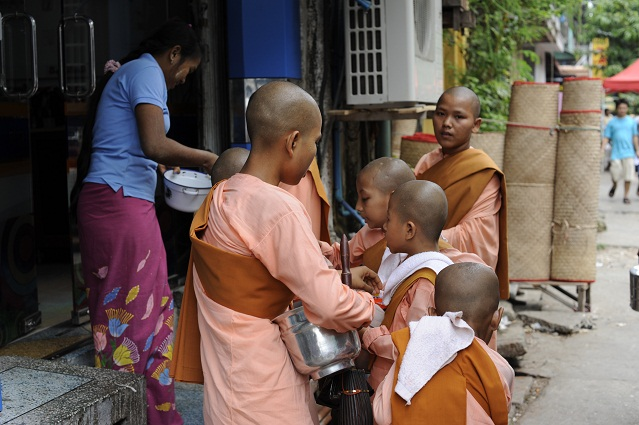 little monks girls