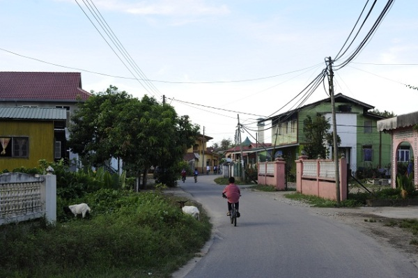 village near Kota Bharu