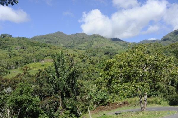 Kelimutu mountains
