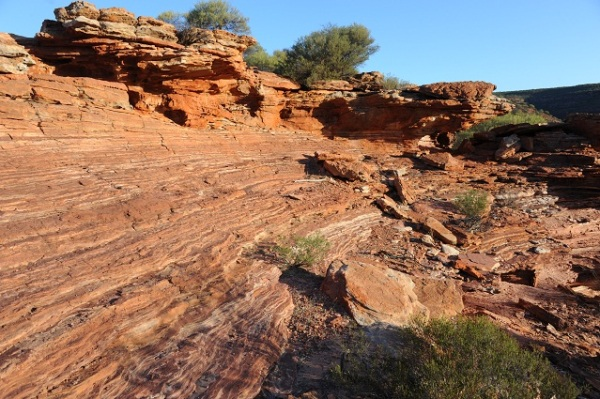 layers of stones