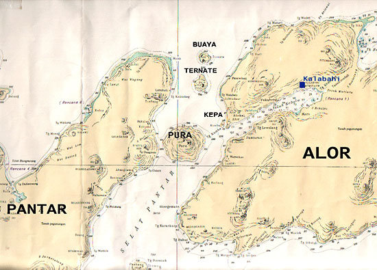 map of la petite kepa